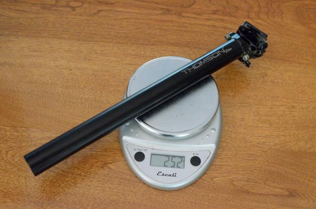 Thomson Elite 252 grams.